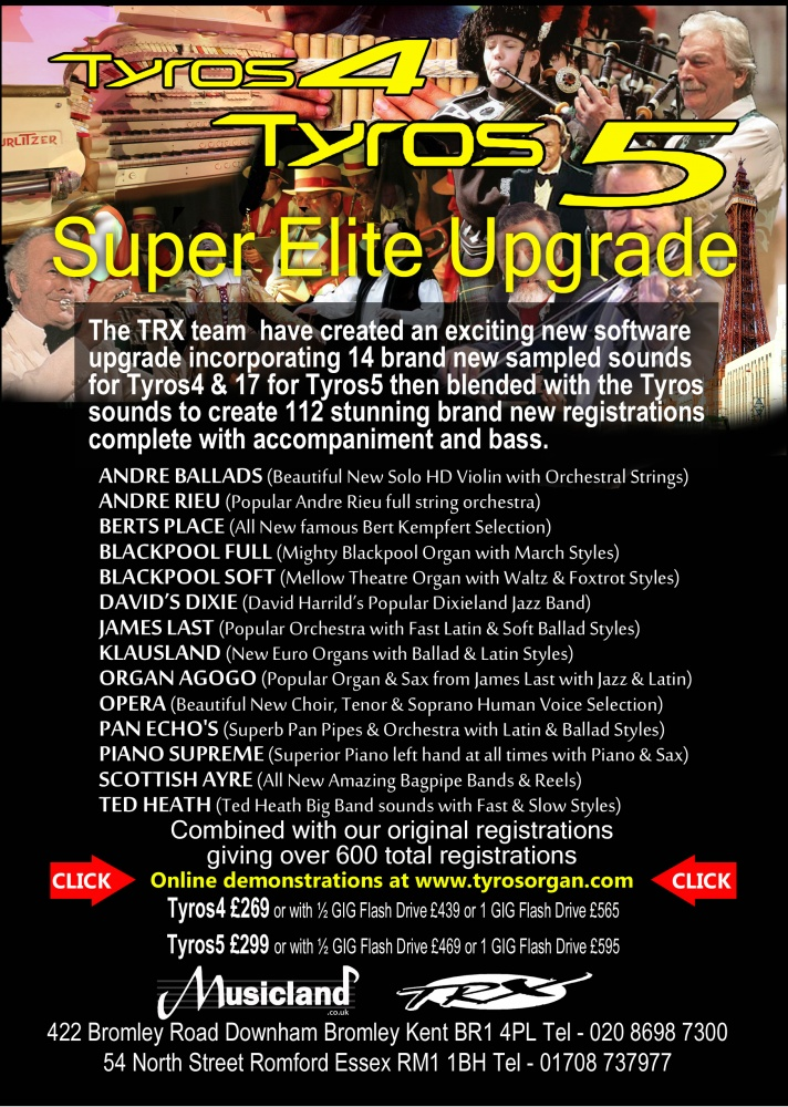 Super Elite Upgrade for Tyros-4