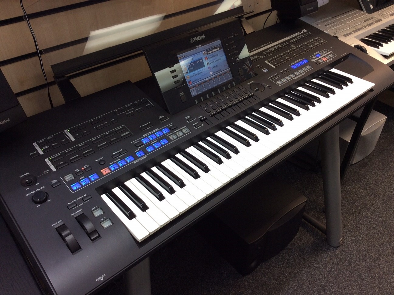 Used Yamaha Tyros 4 10th Anniversary, Limited Edition, Immaculate